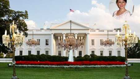 how will first lady melania trump trick out white house