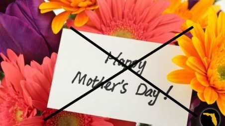 florida wife battered husband with mothers day flowers