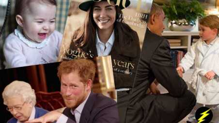 royal family charlotte kate vogue invictus