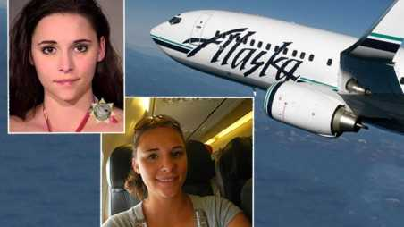 woman arrested for molesting woman on flight