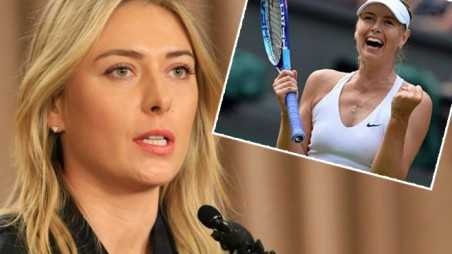 maria sharapova banned from tennis