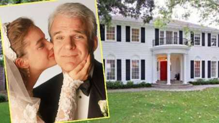 celebrity homes father of the bride steve martin